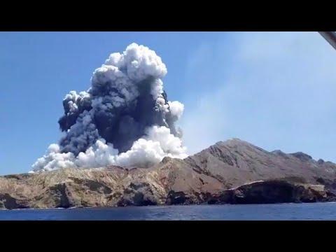 Nouvelle-Zélande : éruption meurtrière du volcan de l'île Blanche