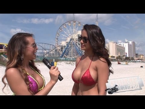 Bikini Beach – Angelina interviews Nikki Rae
