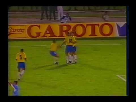 Brasil 2 x 0 Uruguai - Amistoso 1995