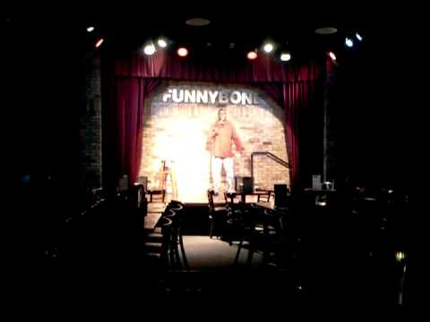 Open mic night at the Funny Bone