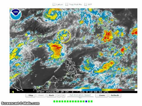 Tropical Storm Haikui and Kirogi and Southwest Monsoon Update August 9, 2012