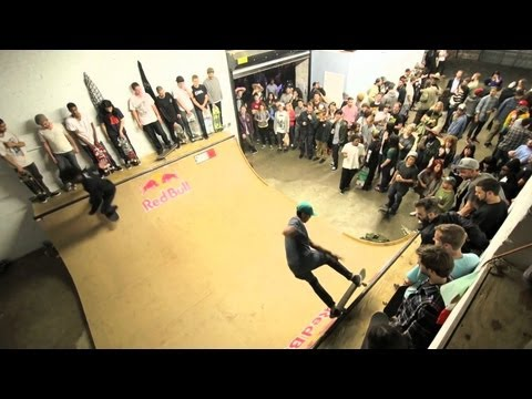 Red Bull   History of Indoor Skateboarding in NYC | Video