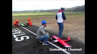 "Aeromodelling Competition in Indonesia (Pati Regency, Central Java), located in center of Lake Gunungrowo. This competition is prepared for National Championship ""Pekan Olahraga Nasional"" BK PON XIX 2016"