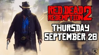 NEW RED DEAD REDEMPTION 2 NEWS FROM ROCKSTAR + WHAT WE CAN EXPECT