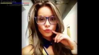 Sitio Web → http://goo.gl/9rcSkrSuscríbete → http://goo.gl/hrZ5AwLa modelo y presentadora colombiana Alejandra Buitrago está causando sensación en el Mundial de Fútbol Brasil-2014