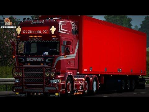 Scania R450 Weeda Penoza 1.28.x