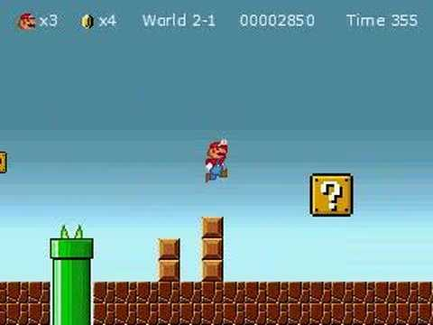 Super Mario Bros DDX - Level 2-1