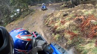 7. Yamaha Grizzly 700 EPS FI Off-Road 4x4 GoPro HERO 2