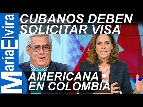 CUBANOS DEBEN SOLICITAR VISA AMERICANA EN COLOMBIA