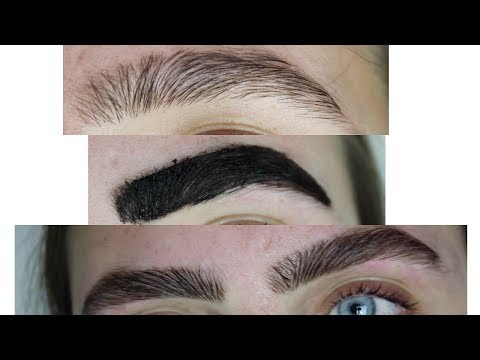 TINTING MY EYEBROWS (at home) || Isabel Moriarty