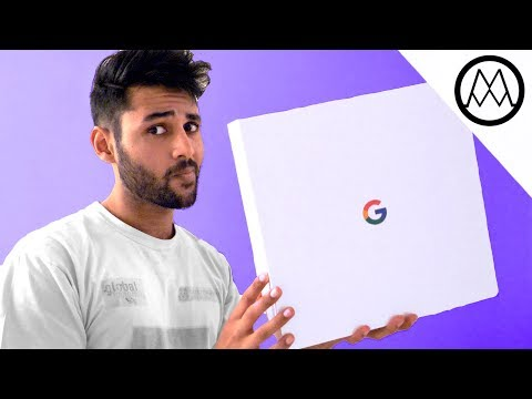 MYSTERY UNBOXING FROM GOOGLE!