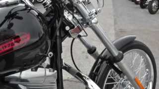 2. 056412 - Used 2007 Harley Davidson Softail Standard FXST Motorcycle For Sale