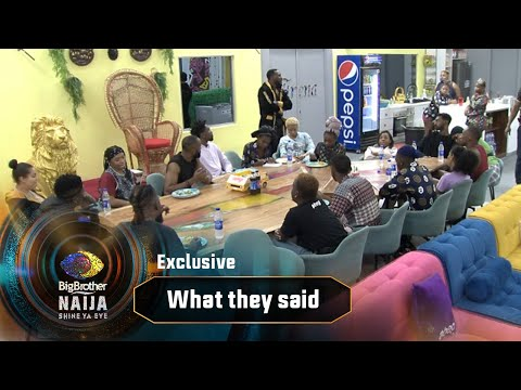 BBNaija Gist: What they promised and what they delivered – BBNaija | Big Brother: Shine Ya Eye