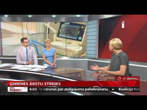 """Veselības ministres Andas Čakšas saruna LTV1 raidījumā """"Rīta Panorāma"""""""