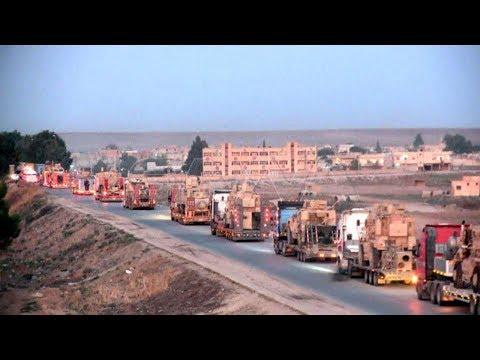 300 شاحنة أمريكية محملة بالأسلحة تصل شمال سوريا.. ما القصة؟