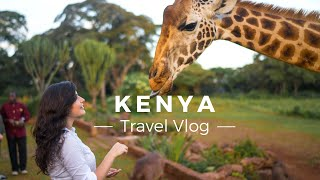 The most epic Kenya trip - we adopted a baby elephant at the David Sheldrick Wildlife Trust, fed giraffes at Giraffe Manor and went...