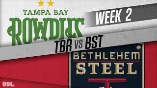 Tampa Bay Rowdies vs Bethlehem Steel FC: March 24, 2018