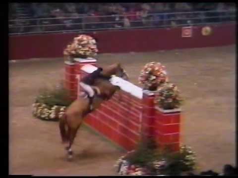 Patrick Caron - Gai Sarde - 2.26 m Puissance at Olympia 1980