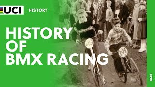 Take a look at the history of BMX racing. From the USA in the 70's to now and the Olympics.More BMX Racing at http://www.uci.ch/bmx/Follow us on Twitter @UCI_BMX_SX