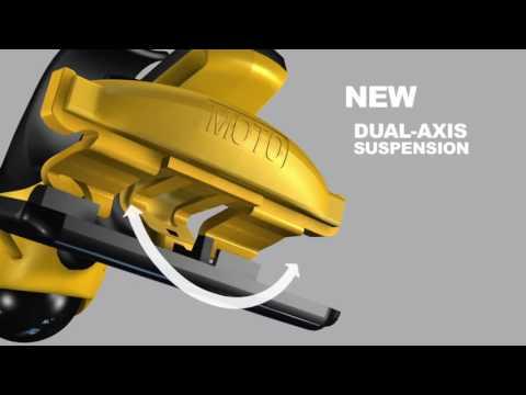 HeadBlade MOTO: Dual Active Suspension