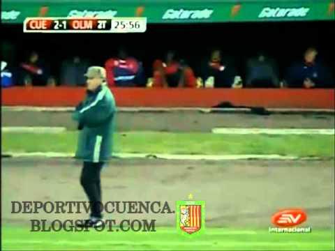 Gol de Néstor Ayala a Olmedo
