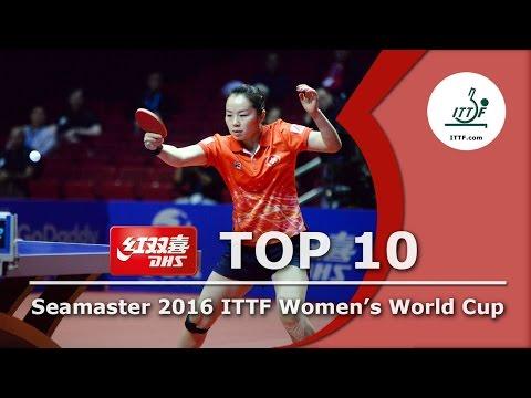 DHS ITTF Top 10 - 2016 Women's World Cup