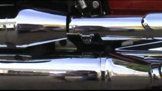 4. 2008 Yamaha V Star 1100 Classic Oil Change Part 1.mpg