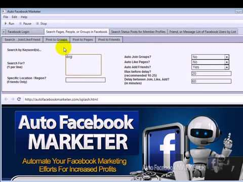 Auto FB Marketer 2.0 Review |  Watch Auto FB Marketer 2.0  Demo