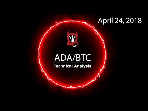 Cardano Technical analysis - (ADA/BTC) Tactical Fractal... [04/24/2018] (видео)