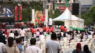 Wonju-si South Korea  city images : Wonju Rose Festival 2012 _ martial arts exhibition