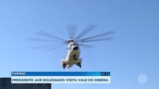 Presidente Jair Bolsonaro visita Tapiraí