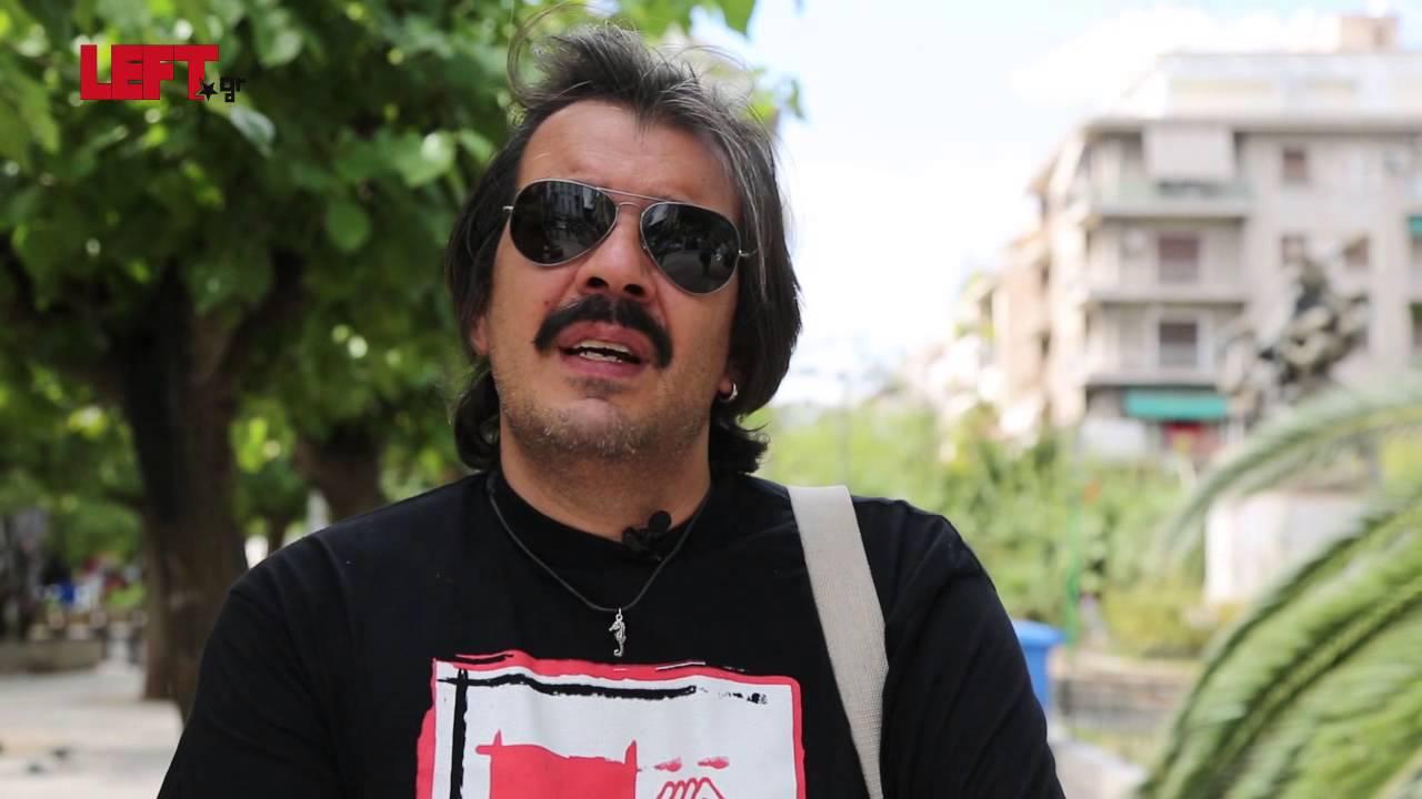 Αλληλεγγύη στους πρόσφυγες -Γιάννης Ανδρουλιδάκης της Πρωτοβουλίας Ροσινάντε