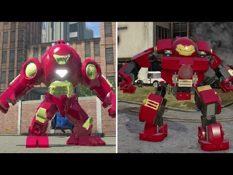 Iron Man Hulkbuster Armor - LEGO Marvel Super Heroes Vs. LEGO Marvel's Avengers
