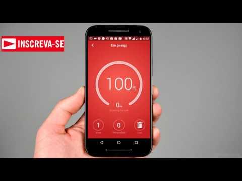 Teste com melhores  antivírus para Android - #ANDROID
