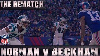 Odell Beckham Jr. vs Josh Norman: The Rematch | Redskins vs. Giants | NFL by NFL