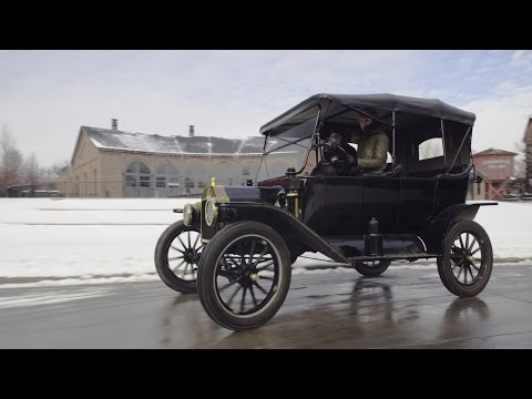 Here's Your Snow Vehicle...the Model T!