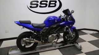 6. 2007 Suzuki SV650S Blue