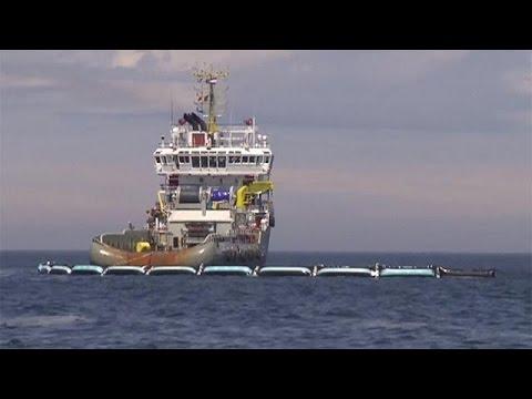 Ένα νέο σύστημα καθαρισμού της θάλασσας από τα πλαστικά – science