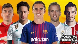 Video TOP 24 POTENTIAL TRANSFERS SUMMER 2018 | Ft. Dybala, Griezmann, Neymar, Kane .etc.. MP3, 3GP, MP4, WEBM, AVI, FLV Juni 2018