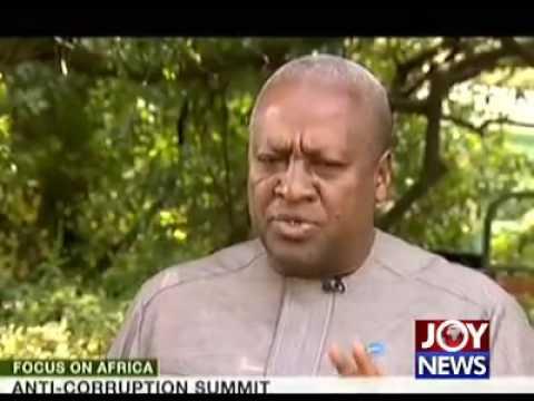 I have never taken bribe – Mahama