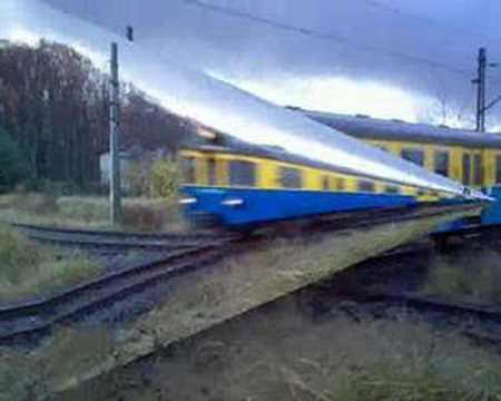 Filmik Kolejowy Orzesze tory Kolejowe.