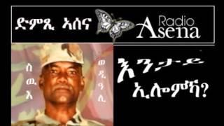 ASSENNA POEM: 'ENTAY ILOMKA' - By Amanuel Eyasu, On The 1st Anniversary Of The Forto Movement