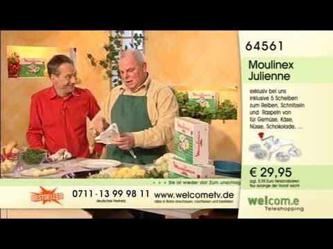 Moulinex Julienne Küchenreibe