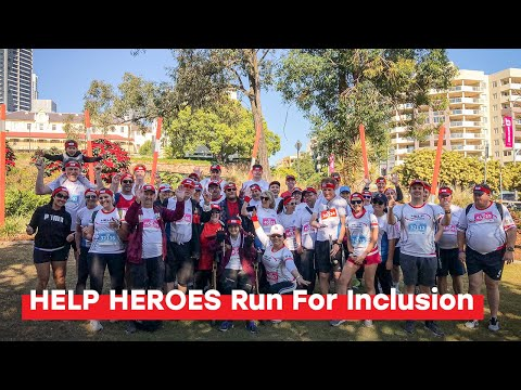 HELP HEROES Run For Inclusion | Bridge To Brisbane 2019