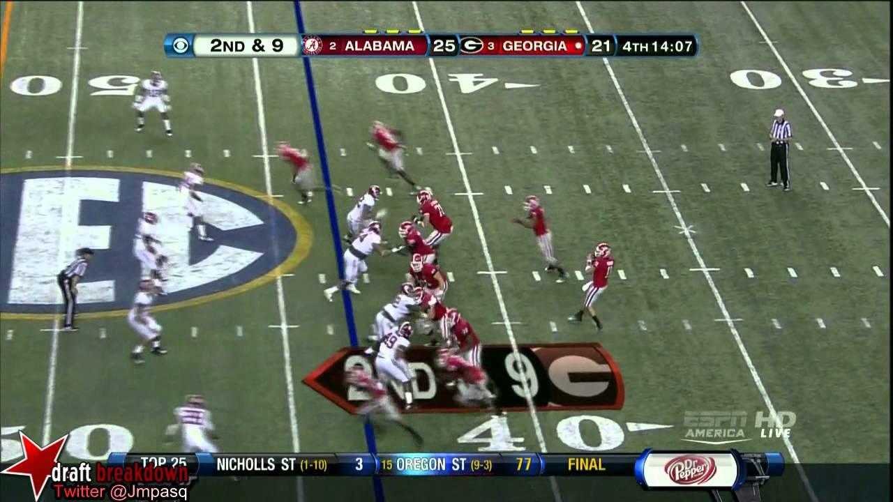 Adrian Hubbard vs Georgia (2012)