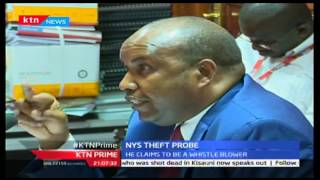 KTN Prime: NYS Deputy Director General Aden Harakhe Faces PAC Over NYS Scam, September 28 2016