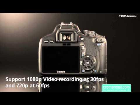 Canon 18Mp Eos 550D Dslr Camera (18-55Mm)