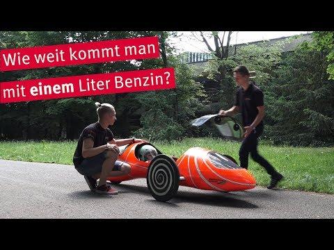 Das 1-Liter-Auto beim Shell Eco Marathon