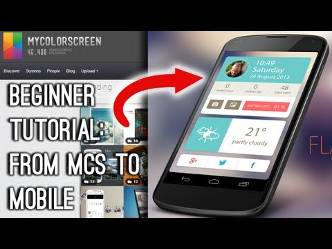 Ultimate Beginner Guide, MCS to Mobile + FlatUI Tutorial