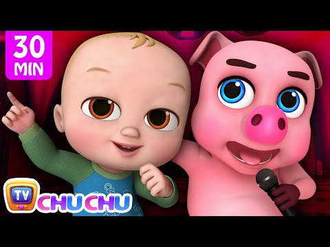 This Little Piggy + More ChuChu TV 3D Nursery Rhymes & Kids Songs